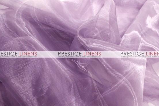 Mirror organza draping 1029 dk lilac prestige linens - Salon prestige organza ...