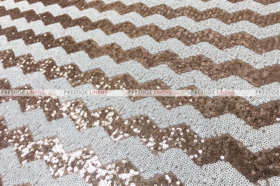 Chevron Glitz Pillow Cover - Blush