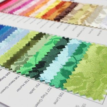 Brocade Satin Color Card