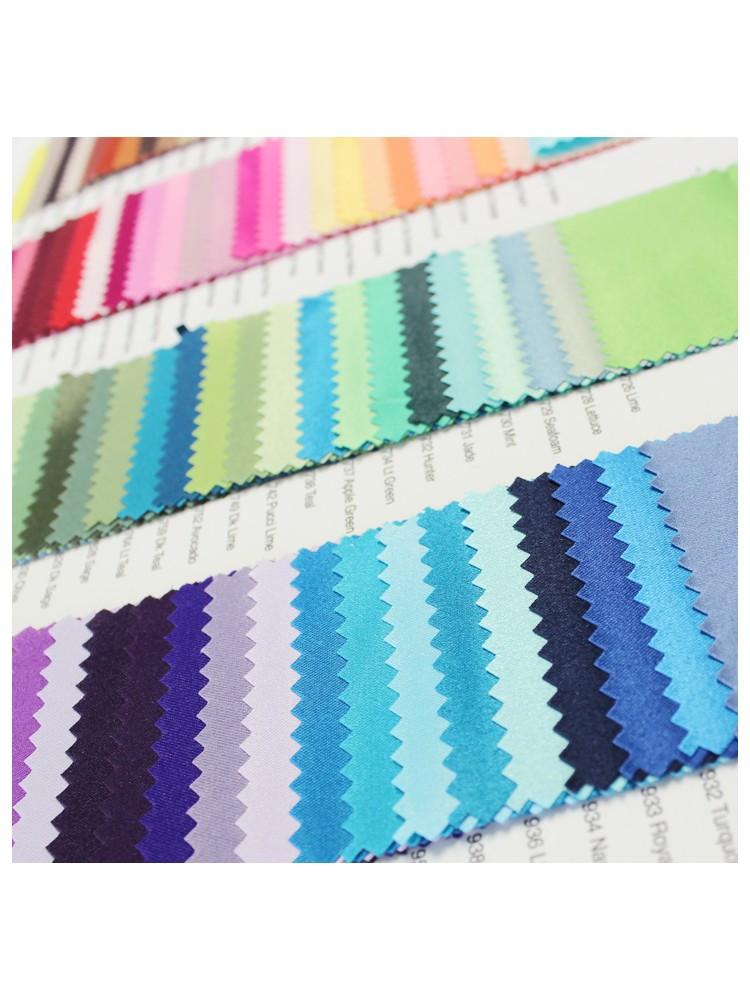 Lamour Matte Satin Color Card Prestige Linens