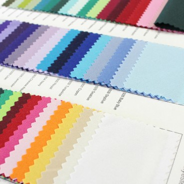 Polyester Color Card