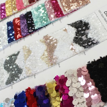 Sequins Color Card