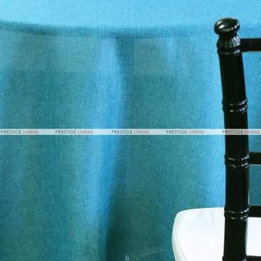 Vintage Linen Table Linen - Teal
