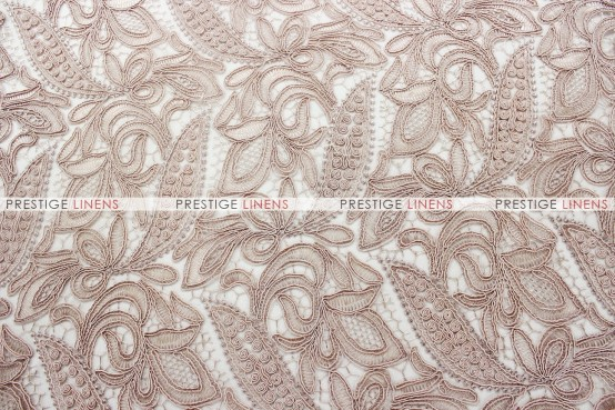 French Lace Table Runner - Blush