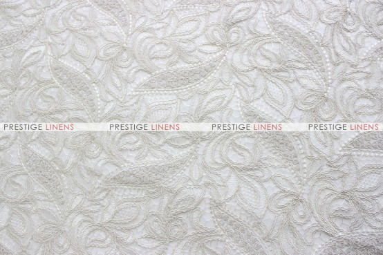 French Lace Table Runner - Ivory