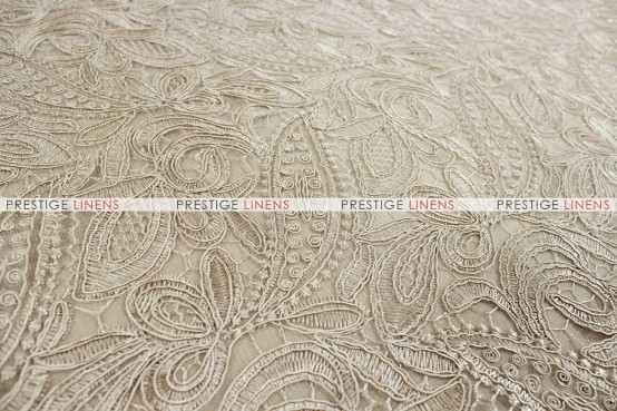 French Lace Table Runner   Natural