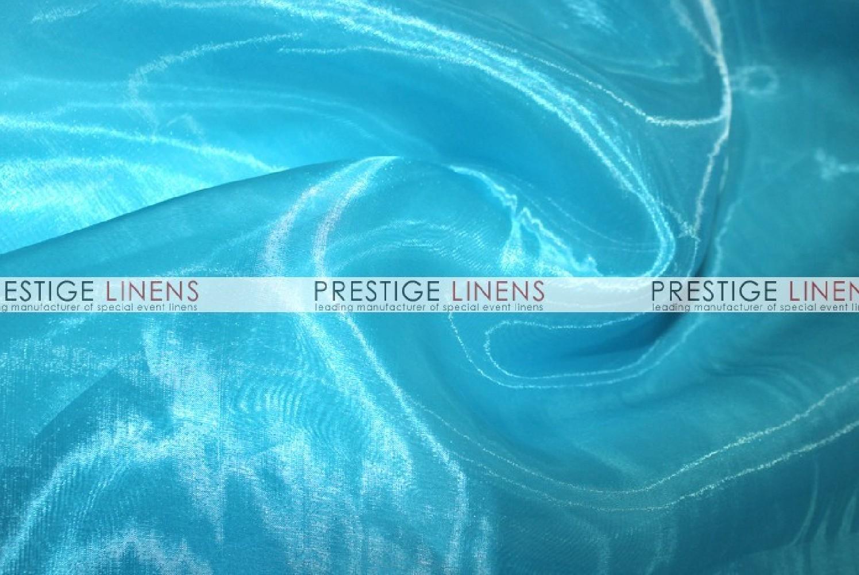 Mirror organza draping 927 aqua prestige linens - Salon prestige organza ...