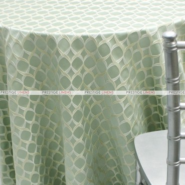 Helix - Fabric by the yard - Seafoam