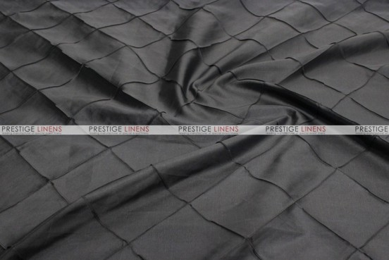 Pintuck Taffeta - Fabric by the yard - Black