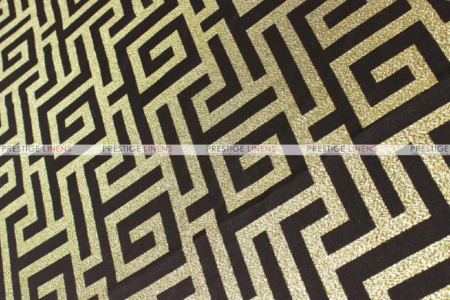 ATHENS TABLE RUNNER   BLACK/GOLD ...