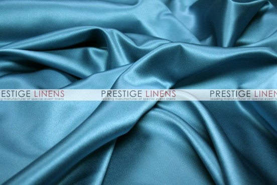 Mystique Satin (FR) Draping - Teal