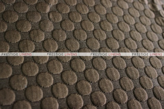BUTTONS PILLOW COVER - CHOCOLATE