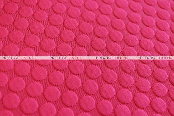 BUTTONS TABLE RUNNER - HOT PINK