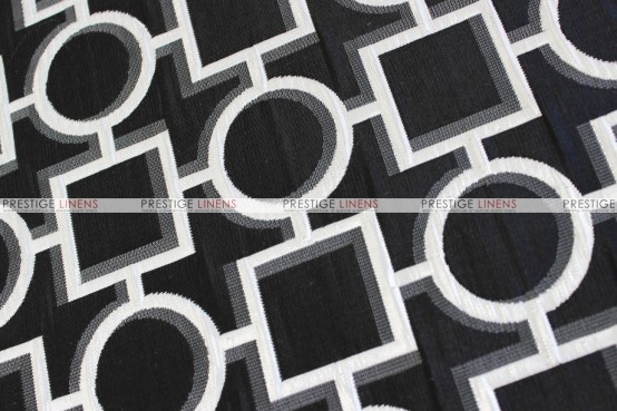 CHAINS TABLE RUNNER - BLACK