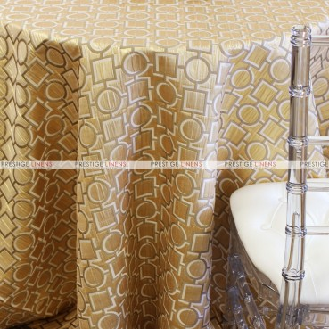CHAINS TABLE LINEN - GOLD