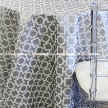 CHAINS TABLE LINEN - SILVER