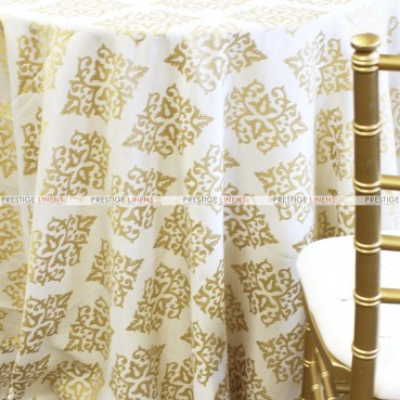 CHELSEA TABLE LINEN - GOLD