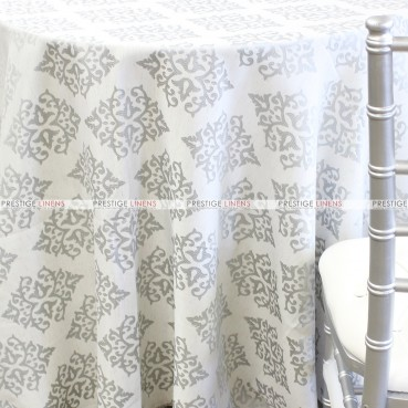 CHELSEA TABLE LINEN - SILVER