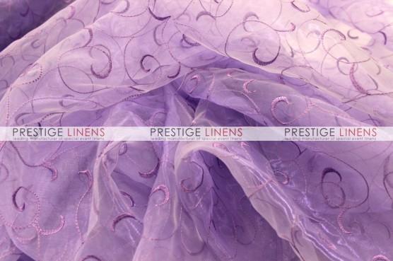 Organza Swirl Draping - 1026 Lavender