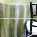 WATERFALL TABLE LINEN - APPLE GREEN