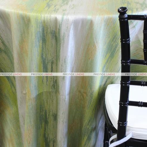 WATERFALL TABLE LINEN - APPLE GREEN