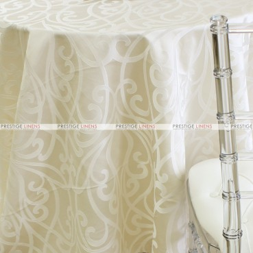 VICTORIA TABLE LINEN - IVORY