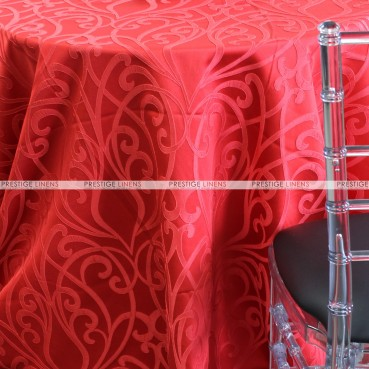 VICTORIA TABLE LINEN - RED