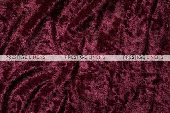 Panne Velvet Draping - Burgundy