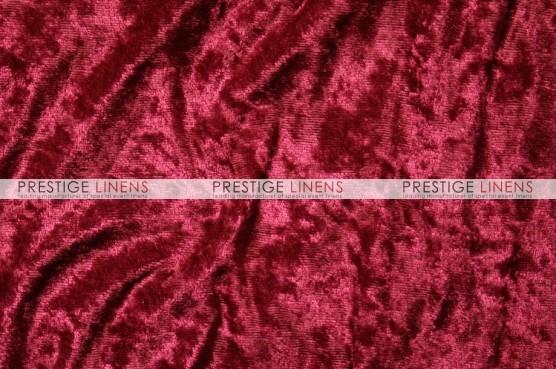 Panne Velvet Draping - Cranberry