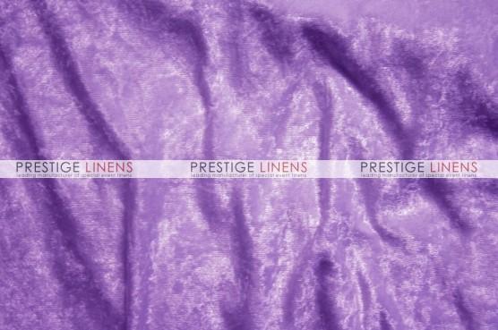 Panne Velvet Draping - Lilac