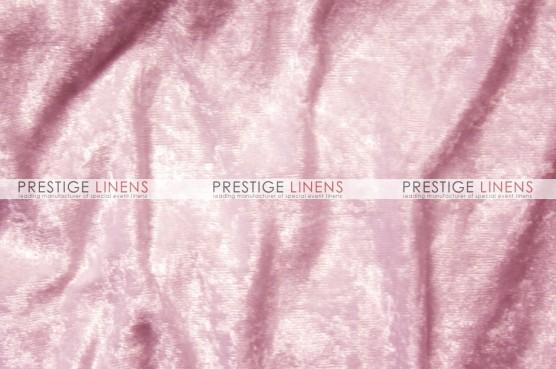 Panne Velvet Draping - Pink