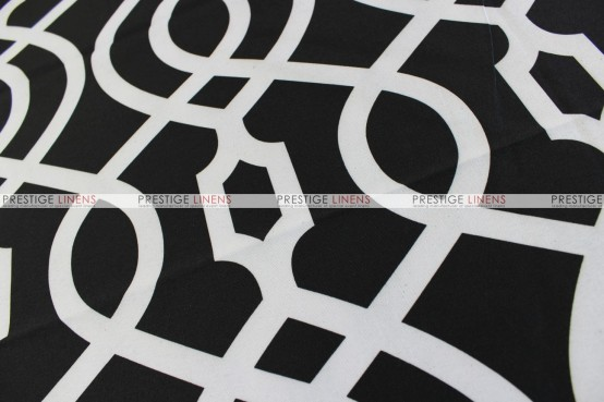 SULTAN TABLE RUNNER - BLACK
