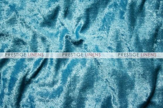Panne Velvet Draping - Turquoise