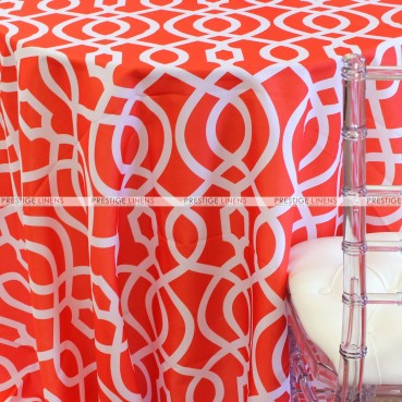 SULTAN TABLE LINEN - ORANGE
