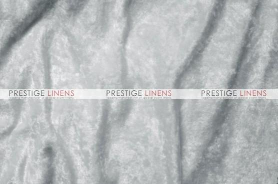 Panne Velvet Draping - White