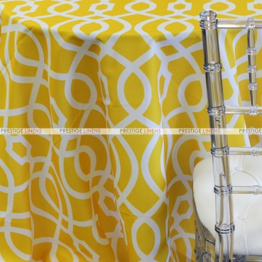 SULTAN TABLE LINEN - YELLOW