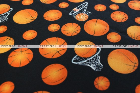 SPORTS PRINTS DRAPING - BASKETBALL