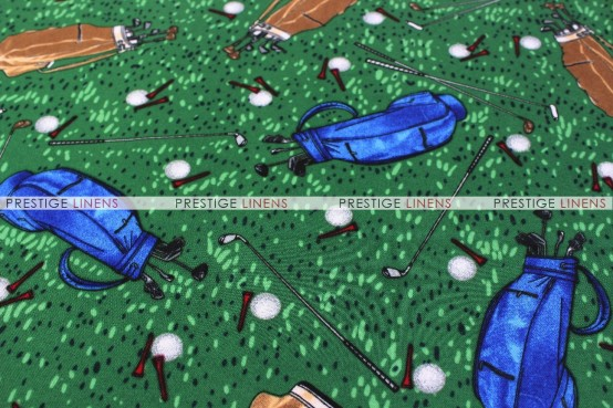 SPORTS PRINTS DRAPING - GOLF