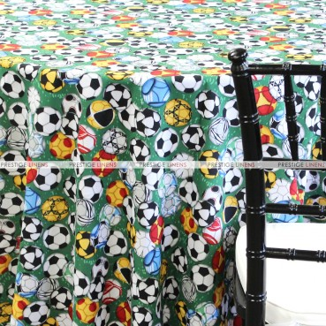 SPORTS PRINTS TABLE LINEN - SOCCER