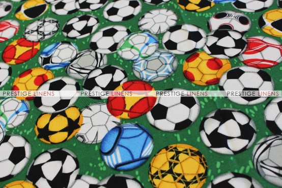 SPORTS PRINTS DRAPING - SOCCER