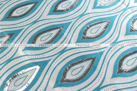 MEDINA PILLOW COVER - TURQUOISE