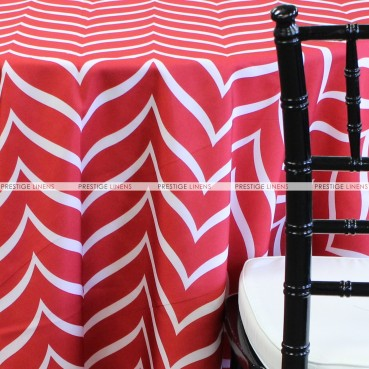 PALOMA TABLE LINEN - RED