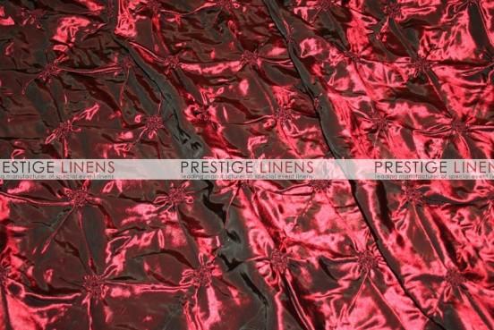 Pinwheel Taffeta Draping - Burgundy
