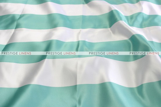 Striped Print Lamour - Fabric by the yard - 3.5 Inch - Mint