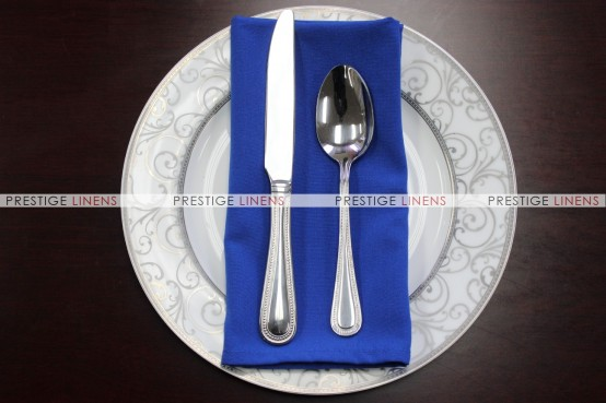 MJS Spun Poly Napkin - Royal
