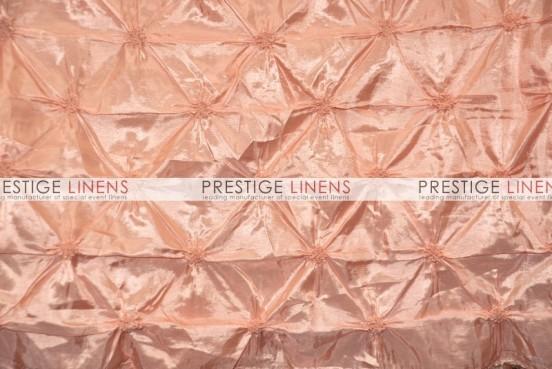 Pinwheel Taffeta Draping - Peach