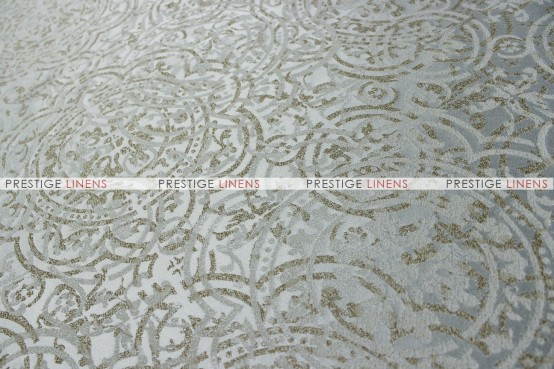 PORCELAIN TABLE RUNNER - SILVER