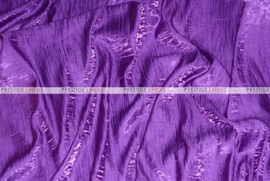 Iridescent Crush Table Linen - Purple