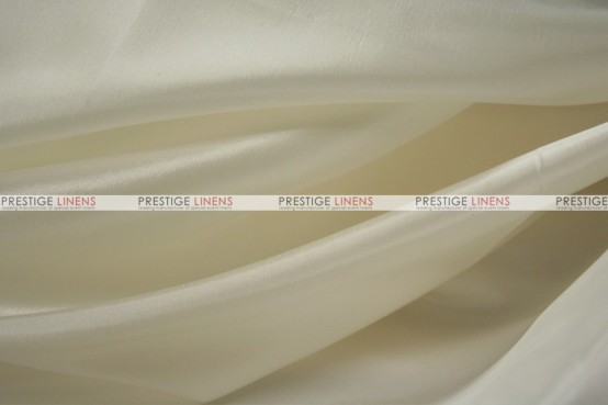 Solid Taffeta Table Linen - 128 Ivory
