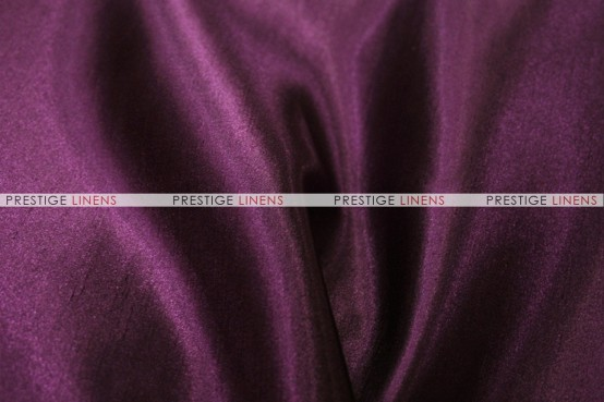 Shantung Satin Chair Caps & Sleeves - 1044 Eggplant